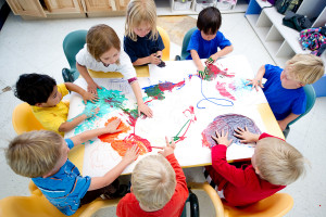 Новинки — столы для коворкинга в детском саду